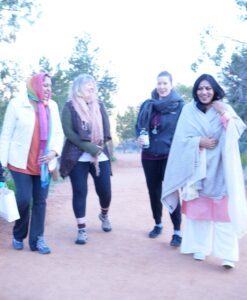 Acharya Shunya Hiking with Friends