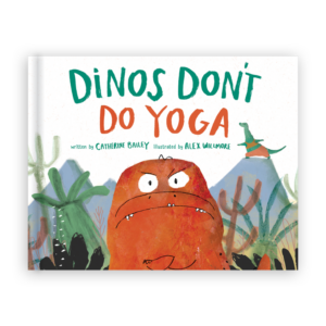 Dinos Don't Do Yoga Cover